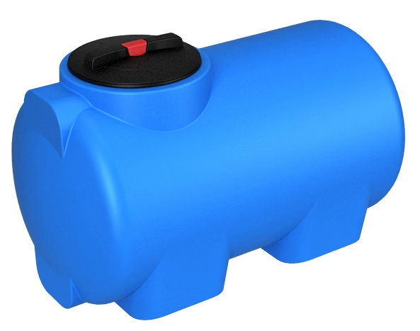 Цилиндрические горизонтальные баки для воды