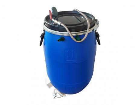 Бочка для душа 65 литров с подогревом СТАНДАРТ с гибким шлагом