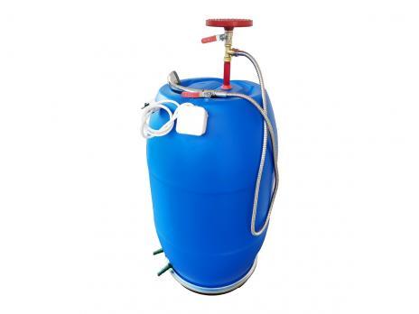 Бочка для душа 127 литров с тройником