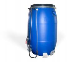 Бочка для душа 127 литров с подогревом ЛЮКС