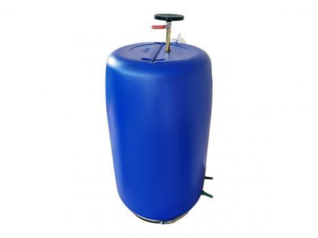 Бочка для душа 222 литров с подогревом СТАНДАРТ