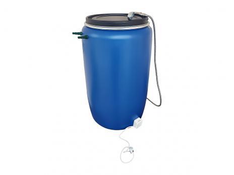 Бочка для душа 227 литров с подогревом СТАНДАРТ с гибким шлагом