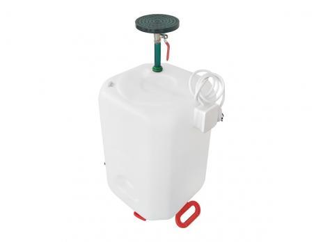 Бочка для душа 60 литров с подогревом