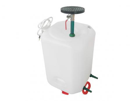 Бочка для душа 50 литров с подогревом