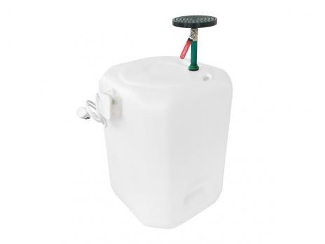 Бочка для душа 90 литров с подогревом
