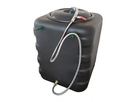 Бак для душа 150 литров с подогревом и гибким душевым шлангом
