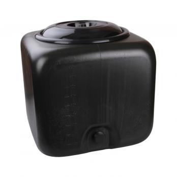 Бак квадратный 100 литров (черный)