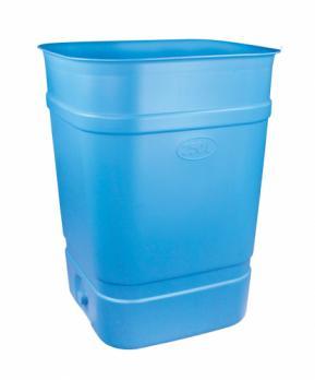 Бочка-бак с крышкой 300 литров (квадратный)