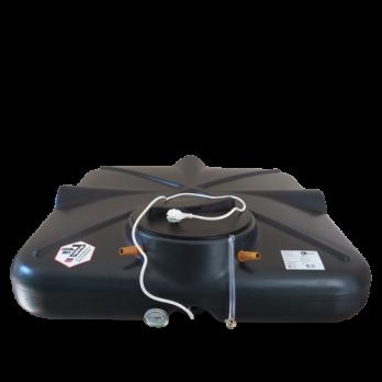 Бак душевой «РОСА» 200 литров с подогревом, термометром и уровнем ЛЮКС
