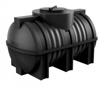Горизонтальная емкость для воды Полимер-Групп G 500 литров