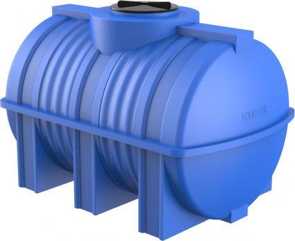 Горизонтальная емкость для воды Полимер-Групп G 1000 литров