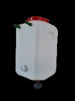 бочка для душа 90 литров с термометром